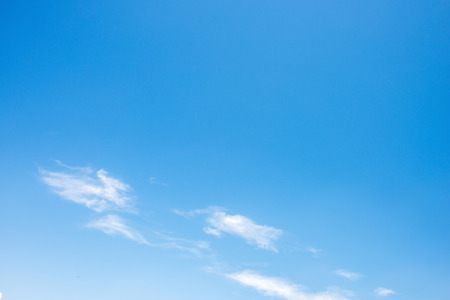 nice blue sky with clouds
