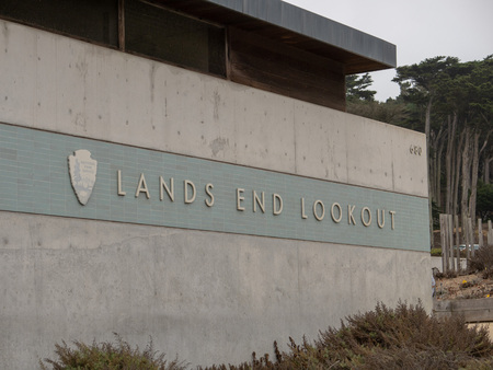 Lands End Lookout visitors center tourist attraction in Golden Gate Nation Recreation Area