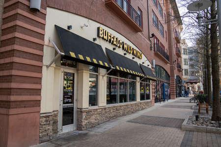 Buffalo Wild Wings restaurant location entrance