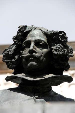 velazquez: Statue of Velazquez in the Museo del Prado