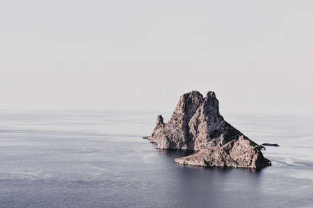 Beautiful Es Vedra Island, Ibiza, Balearic Islands Banco de Imagens