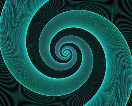 espiral: Cyan fondo diseño en espiral