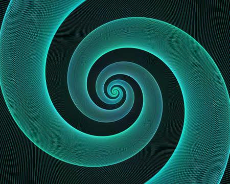 blue spiral: Cyan spiral design background