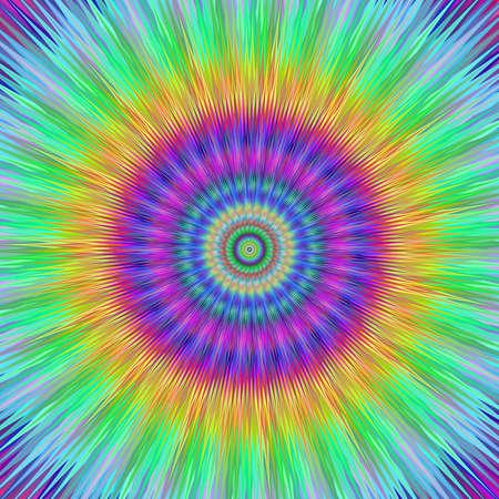 vibrant: Vibrant burst fractal design
