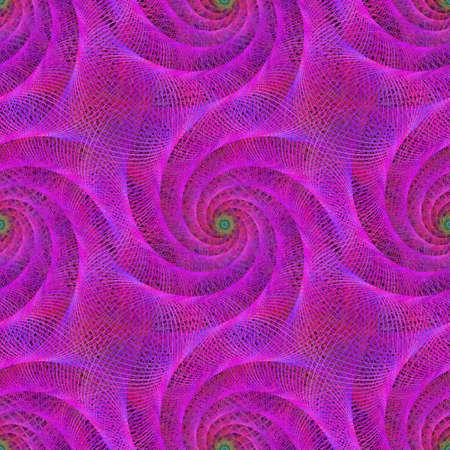 wired: Pink seamless wired fractal spiral design background