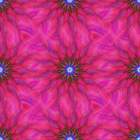 fractal pink: Computer generated pink repeating fractal pattern design