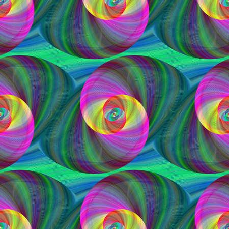 fractal: Computer generated swirl fractal pattern background design Illustration