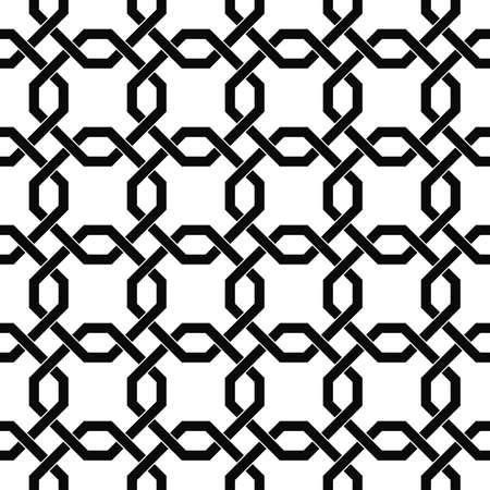 trellis: Monochromatic seamless trellis pattern Illustration