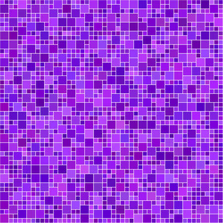 tile flooring: Purple computer generated square mosaic background design