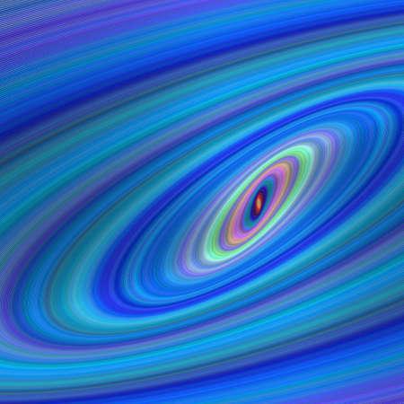 elipse: Elipse azul dise�o galaxia de fondo