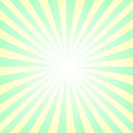 sunshine background: Light yellow and green abstract summer sunshine background