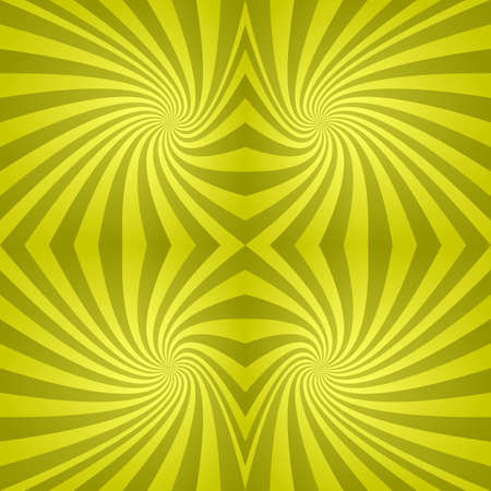 spiral pattern: Seamless abstract yellow spiral pattern design background Illustration