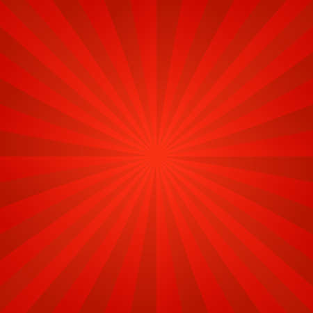 Red hot abstract ray burst design background 向量圖像