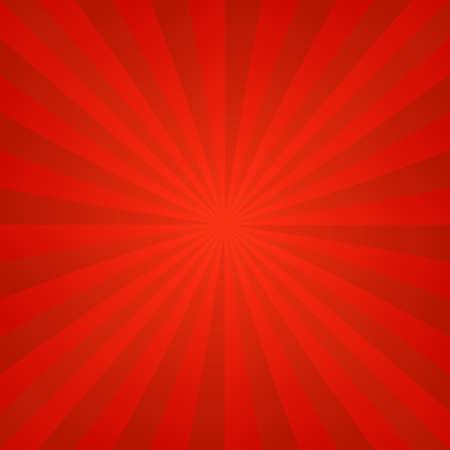Red hot abstract ray burst design background Illusztráció