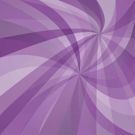 Purple abstract double spiral ray design background