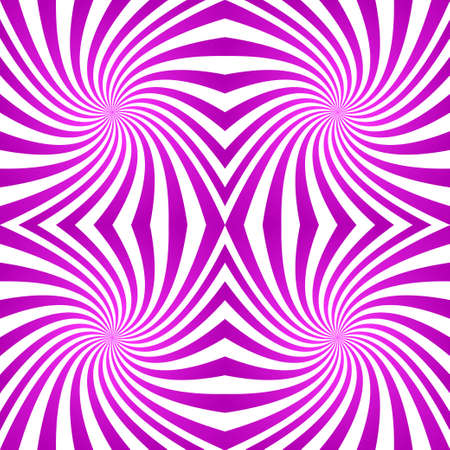 quadrant: Magenta abstract digital striped twirl pattern background