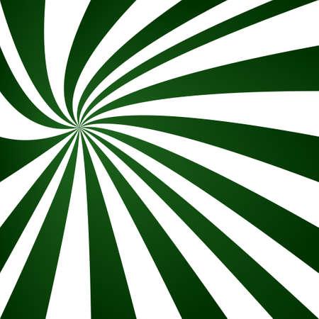 striped wallpaper: Dark green swirling ray pattern design background