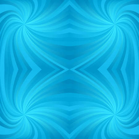 Cyan repeating swirl pattern background vector design
