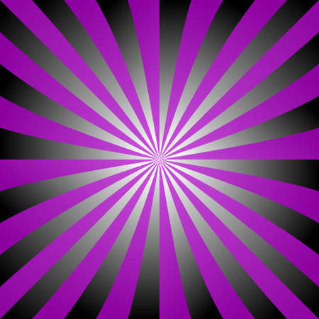 Purple black white ray burst design background Illustration