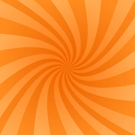 abstract swirls: Orange color abstract vector swirl design background
