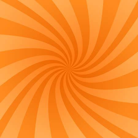 Orange color abstract vector swirl design background