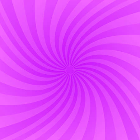 Purple and pink twirling ray design background