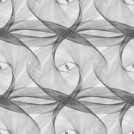 eliptica: patr�n de curva el�ptica transparente de blanco y negro Vectores