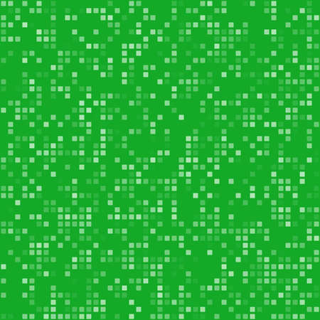 bits: Green square pixel mosaic digital background design