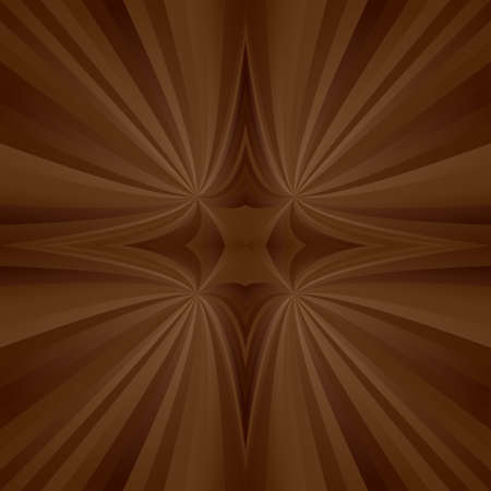 turmoil: Brown abstract digital mirror ray background design