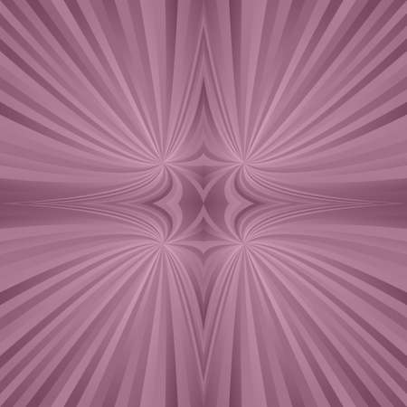 hyperspace: Vintage abstract digital mirror symmetric ray background Illustration