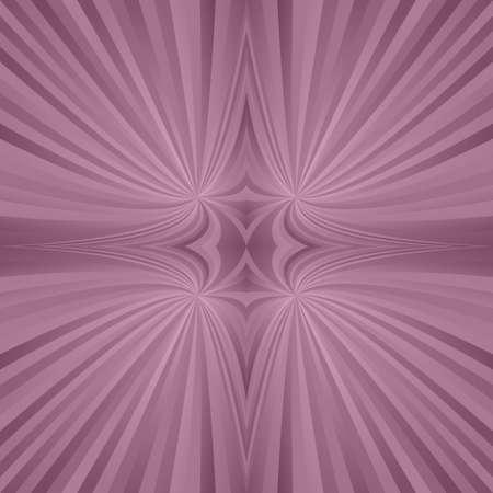 symmetric: Vintage abstract digital mirror symmetric ray background Illustration