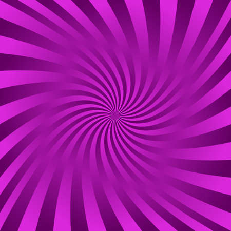 Purple color gradient abstract spiral design background