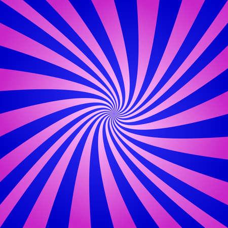 Magenta blue spiral background - digital abstract vector Illusztráció