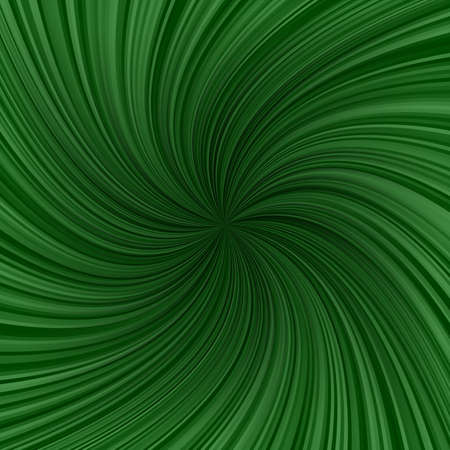 twirling: Dark green abstract twirling ray pattern background