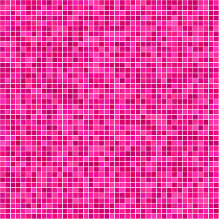 magenta: Magenta pixel design background Illustration