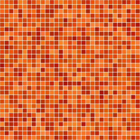 casing: Orange pixel design background