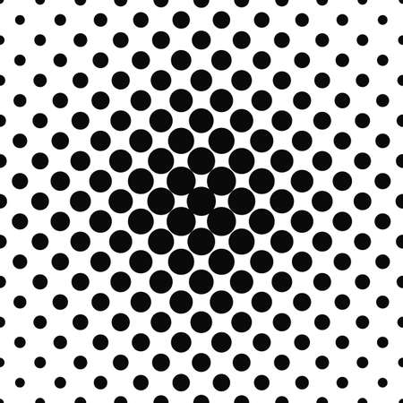 fleck: Simple abstract monochrome repeating dotted pattern design Illustration