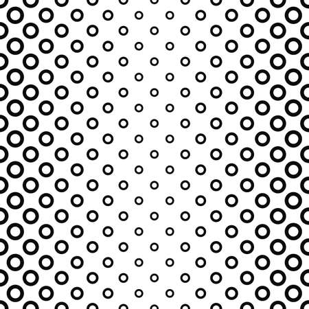 fleck: Seamless vertical black and white ring pattern