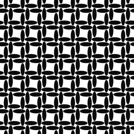 elipse: Dise�o sin costuras patr�n de elipse blanco y negro