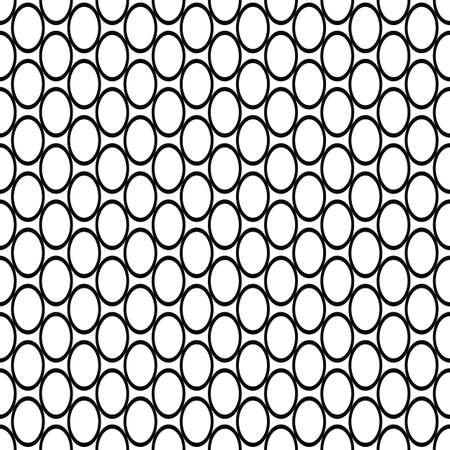 elipse: Repitiendo el modelo elipse blanco y negro simple