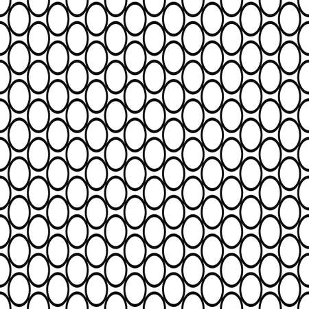 fleck: Simple repeating black and white ellipse pattern