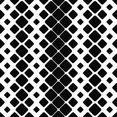 paving stone: Seamless monochrome paving stone pattern vector background Illustration