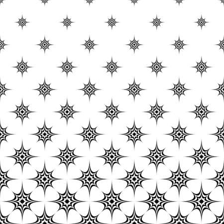 prickle: Seamless abstract monochrome star pattern design background