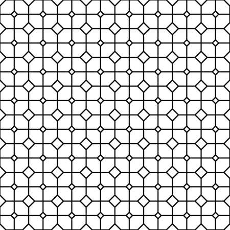 grid: Repeating abstract monochrome grid pattern design background Illustration
