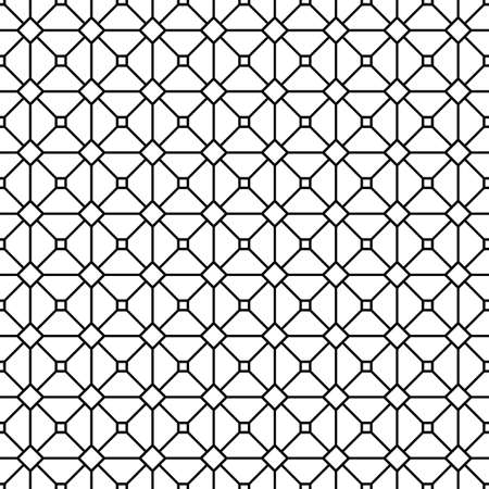 grid pattern: Seamless abstract monochrome grid pattern design background
