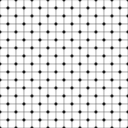 grid pattern: Monochrome abstract seamless grid pattern design background