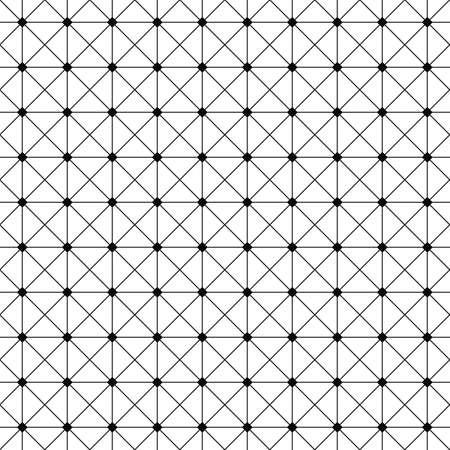 grid pattern: Seamless monochrome wire grid pattern design background
