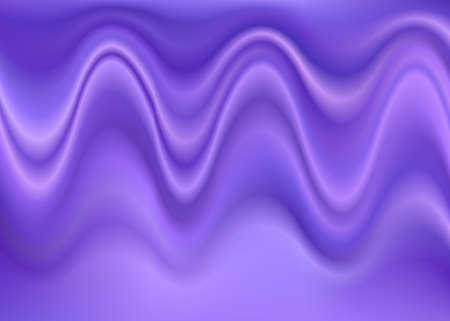 embossment: Purple computer generated abstract wrinkled wave background Illustration