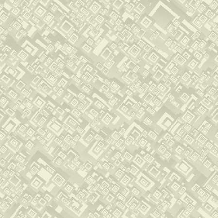 rectangle: Beige seamless rectangle pattern design vector background