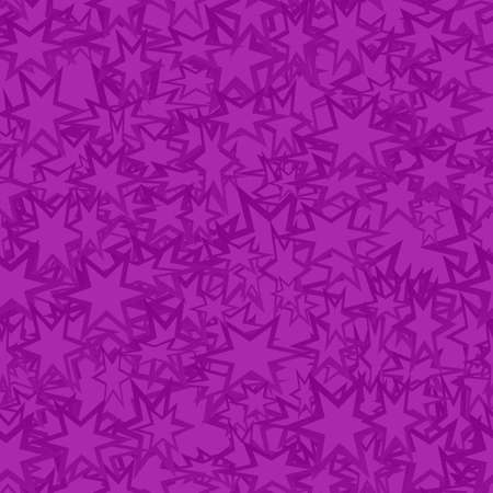 star pattern: Purple seamless star pattern design vector background Illustration
